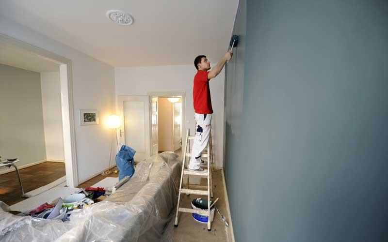 Wohnzimmer-streichen