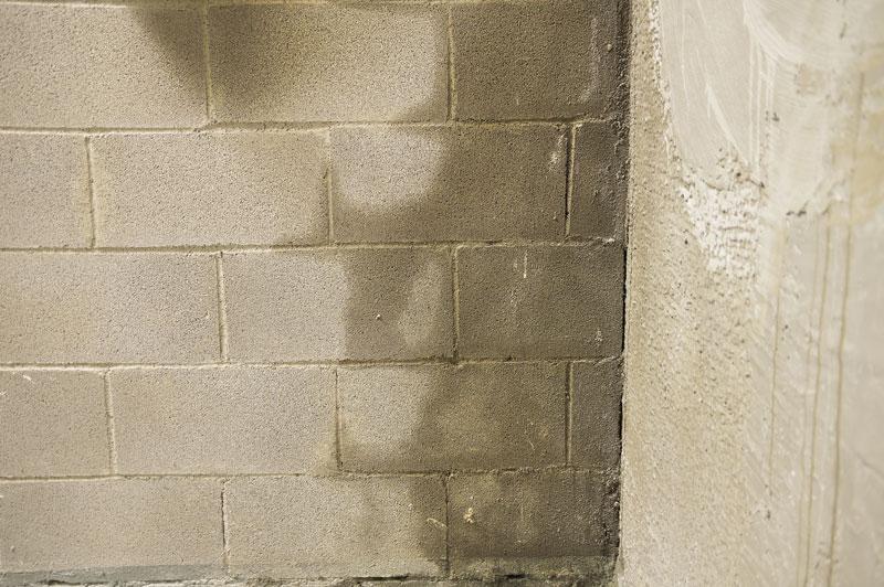 feuchte-Kellerwand