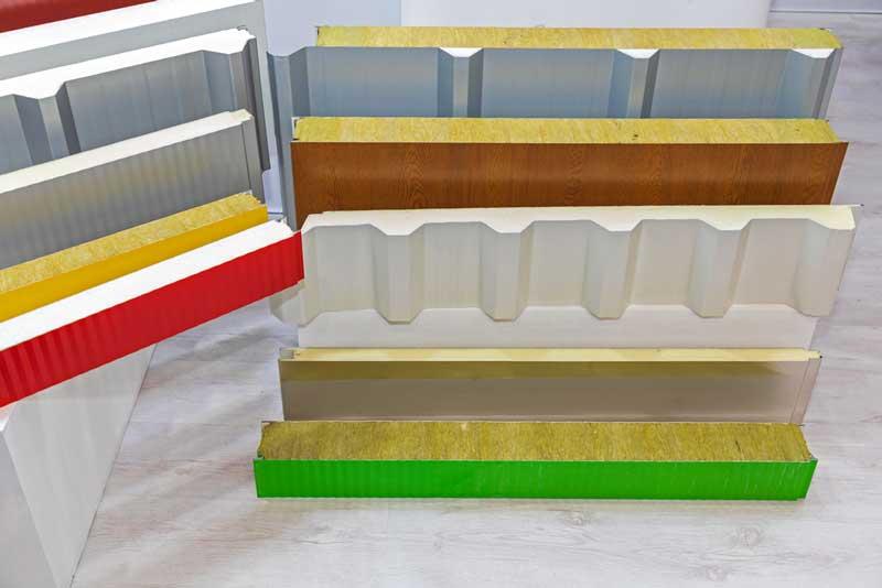 Vorgefertigte Sandwichpaneele für Wanddämmung aus Verbundwerkstoffen