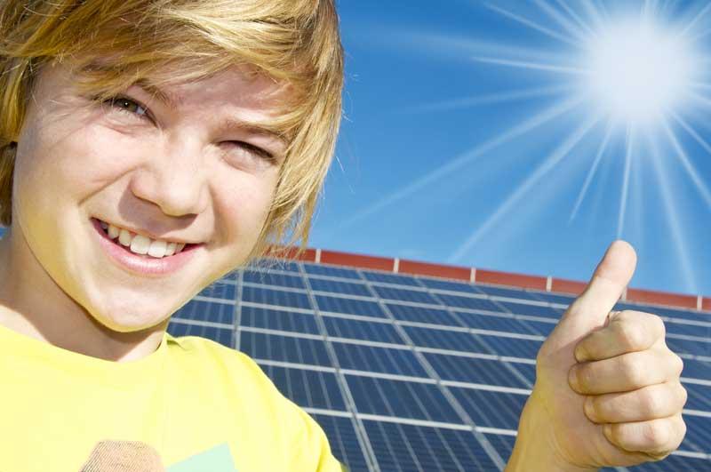 neue Solaranlage