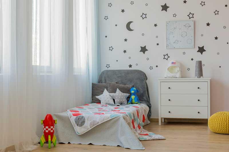 Wanaufkleber Kinderzimmer