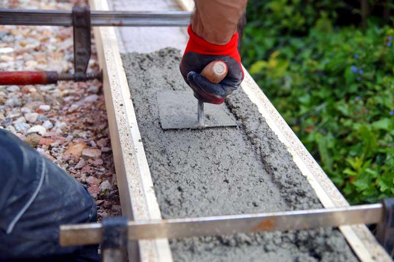 Fundament betonieren Carport