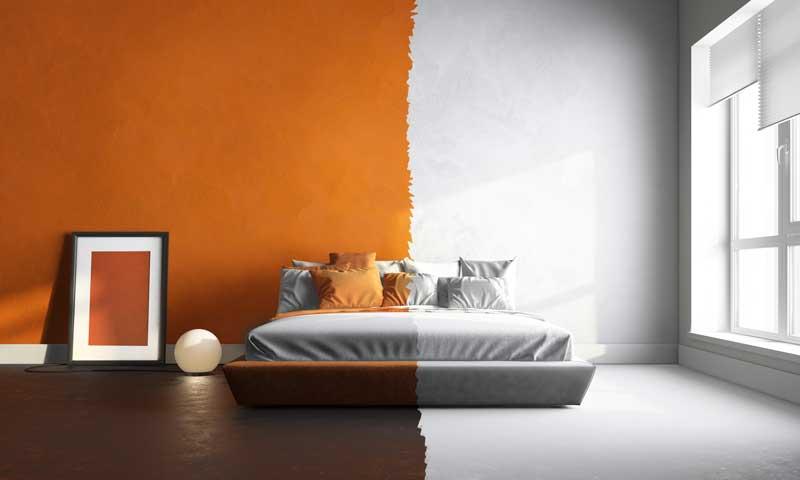 Schlafzimmer streichen Farbauswahl