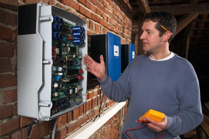 PV-anlage Anschluss durch Elektriker